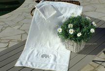 Textiles Autour du bain /  ligne de bain Sylvie Thiriez et autres