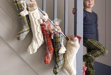 Christmas stockings / by Heidi Foss
