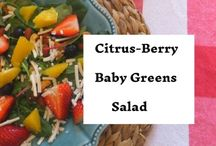 All Things Recipes: Salads and Appetizers / Recipes for Salads and Appetizers that are tasty and quick...includes appetizers for parties and crowds that can be made ahead!