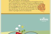 Levenswijsheid / Dukkha, Tanha, Nirodha, Magga, Four Noble truths, buddhism, boeddhisme, Mindfulness, Vicious Flower, Zie ook: http://www.mediamarlin.nl/story