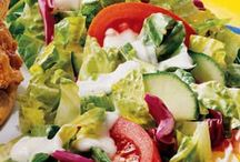 Salads & Salad Dressings / by Debb Foster
