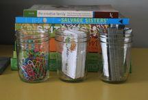 .mason jar madness. / the many uses of mason jars :) / by Kaitlin Chando