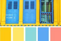Colour inspiration / Seasonal colours for creative projcts