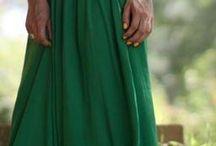 Green Dresses / Mostly dresses