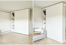Bedroom moveable walls