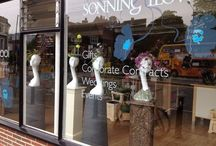 Our Shop Window / The Shop Window at Sonning Flowers