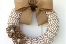 Fall wreath ideas / by Elizabeth Combetti
