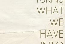 Inspirational words / by Nicole Reinkensmeyer
