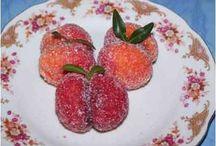 Barackok sütemény