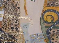Gustave Klimt Oil Paintings / [Austrian Art Nouveau Painter, 1862-1918] , for more please visit www.painting-in-oil.com/artworks-Klimt-Gustave-page-1-delta-ALL.html