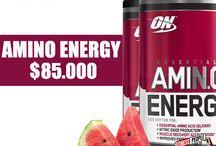 Aminoacidos / La principal función de los aminoácidos es estimular la síntesis de la proteína muscular, disminuir la fatiga durante el ejercicio y participar en la protección del sistema inmunológico.