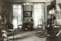 """A Dying Note (Book 6) - interiors / All kinds of interior photographs and information from 1880s (or so) San Francisco, including a link to """"A Brief Illustrated History of The Palace Hotel of San Francisco"""" ... such a great resource, I inadvertently pinned it more than once!"""