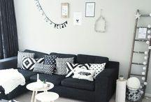 Woontrend zwart & wit | OTTO / Wil jij inspiratie opdoen over de laatste woontrends? OTTO heeft voor jou een pin bord gemaakt met de laatste woontrends!