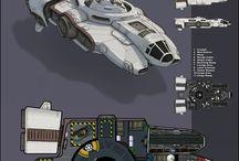 Troop Ship Concept art