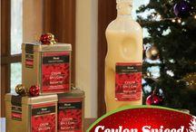 Christmas  Recipes #teainspired