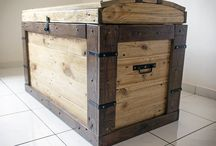 DIY pallet projects / Treasure chest