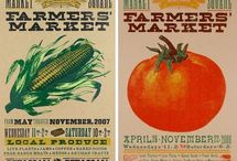 Farmers Market Design Inspiration / by Shannon Whitehill