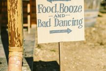 Funky Wedding Signs