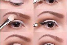 Retro Rockabilly Pinup Makeup