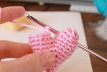 coração em croche