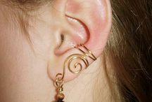 øreringer