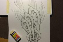 Tattoo Design (WIP) / Work In Progress desings