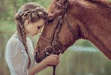 HAIRSTYLE / HAIRSTYLE - INSPIRATION FOR PHOTO SESSION WITH HORSES
