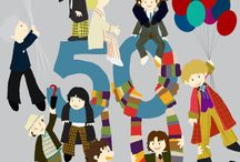 Doctor Who  / Saturday November 23rd celebrates the 50th anniversary of Doctor Who with the airing of The Day of the Doctor. Whovians around the world will be watching this epic special on television and in select cinemas as the Tenth and Eleventh Doctors unite on screen to embark on their greatest adventure yet. Below, we've put together a board of gorgeous fan art, fun recipes, and activities to help you celebrate your favourite show. Allons-y! / by HarperCollins Canada
