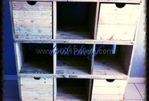 Muebles hechos con pallets