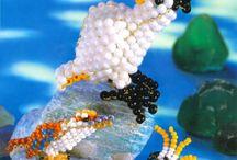 zvířátka korálky 3D
