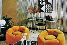 70s retro interiéry