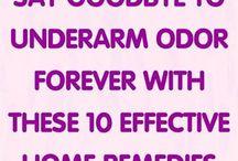 Underarm Odour