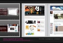 Web / Multimedia / Arquitectura, creatividad, diseño y maquetación de distintos proyectos webs y multimedia.