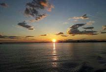 ηλιοβασίλεμα στη Θεσσαλονίκη#greece# Ελλάδα #اليونان#
