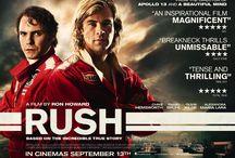 Rush / Stills and poster images from Ron Howards's Rush starring Daniel Brühl and Chris Hemsworth in cinemas 13th September