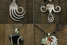 Fork jewelry / Gorgeous Fork and Spoon Jewelry
