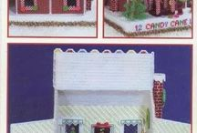 X-Mas House, Gingerbread, Chrismas