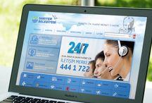 SARIYER BELEDİYESİ / Sarıyer Belediyesi için yaptığımız Web Tasarım Taslak Çalışması