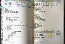 Planners.BulletJournaling.Bujo.Smashbook.Notebook.Agenda.Diary.