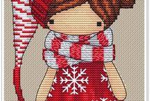 Cross stitch - Magic dolls