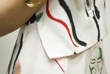 Embroidery print MK