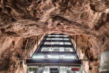 Stockholms tunnelbana, Sweden /  Stockholms tunnelbana, Sweden