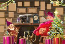 Joulukalenteri luokkaan