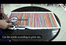 DIY : Stretchy Headbands / Create your own prints and style on Stretchy Textile Headbands.