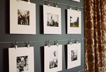 Picture Perfect / Hanging ideas for pictures and art love.