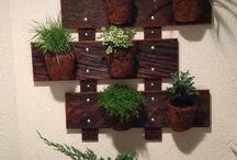 decorações com paletes