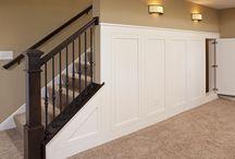 Stair railings  / House