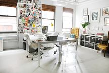 OFFICE INSPO / Office Inspiration for the girl boss, boss babe, and motivated creative females. Inspo to start your blog, business, and side-hustle.
