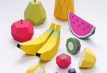 papier fruit
