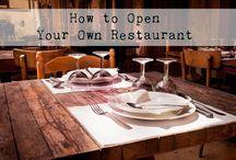 To start a Restaurant